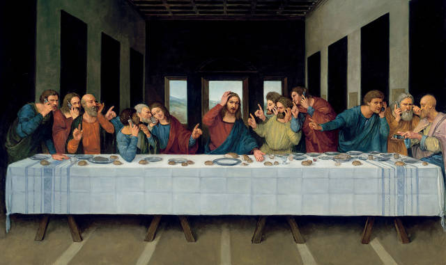 """The Ascent Of """"Mad"""": See 60 Years Of Comic Subversion   Co.Create ... Da Vinci Last Supper Original"""