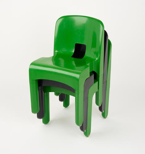 <p>The ubiquitous stacking chair by Anna Castelli Ferrieri, who once said that &quot;what is beautiful is what is useful.&quot;</p>