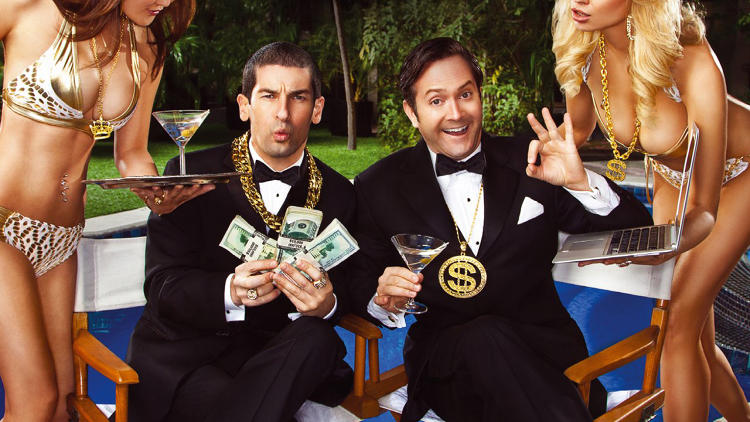 "<p>You may recognize <a href=&quot;http://www.fastcocreate.com/1681393/6-tips-for-writing-a-money-making-script-from-a-billion-dollar-screenwriting-duo&quot; target=&quot;_self&quot;>Thomas Lennon and Robert Ben Garant</a> from ""Reno 911,"" which they created and starred in. What you probably don't know is that their movies have grossed over a billion dollars at the box office.</p>"