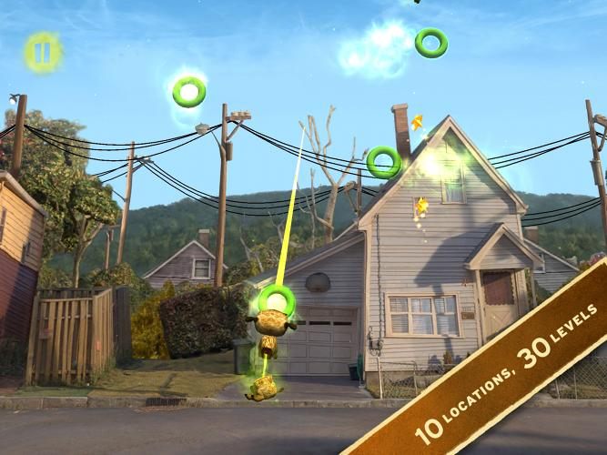 <p>2-Bit Bub incorporates 10 locations from <em>ParaNorman</em> over 30 levels. Harder levels include disappearing and timed orbs, and ones that only appear after a particularly sequence is completed. Word to the wise, it gets straight-up difficult early on, making it charming <em>and</em> challenging.</p>