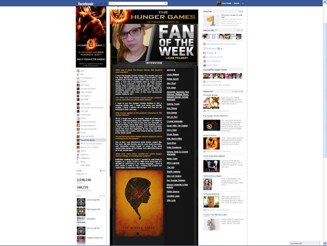 <p>The marketing team used Facebook to reveal characters and spotlighted fan-created content with Fan Fridays.</p>