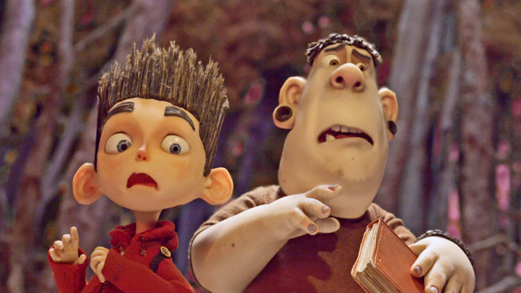 <p>Norman and Alvin react to rising zombies.</p>