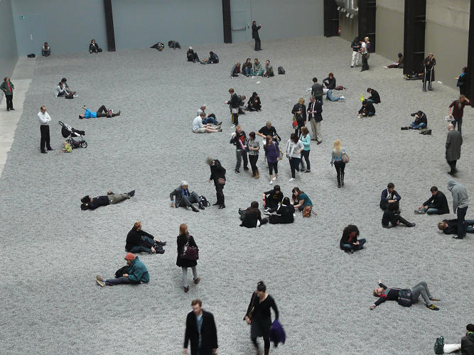 <p>Sunflower Seeds at the Tate Modern</p>