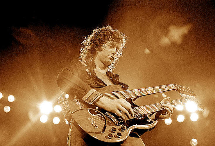 <p>Jimmy Page</p>