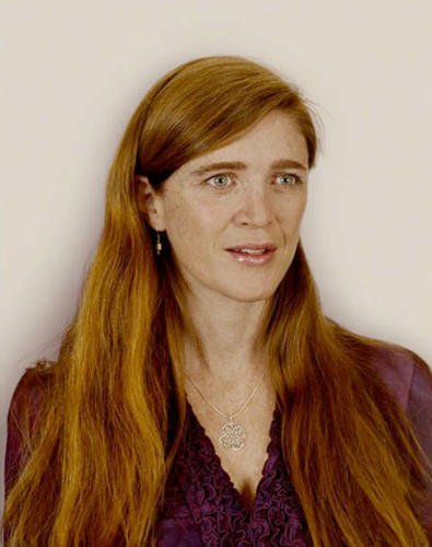 <p>From Obama's People: Samantha Power</p>
