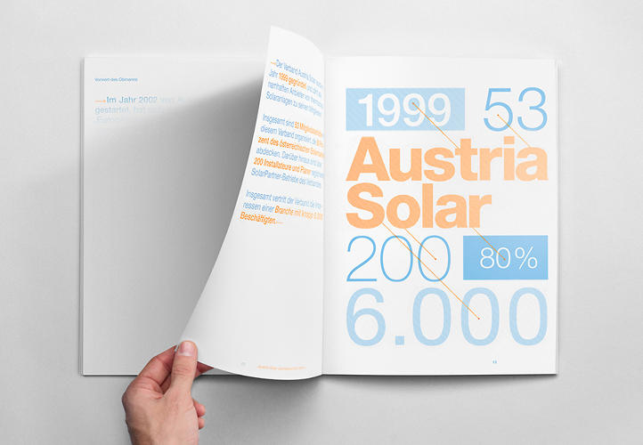 <p>Austria Solar<br /> Agency: <a href=&quot;http://www.serviceplan.com/&quot; target=&quot;_blank&quot;>Service Plan </a></p>  <p>Using environmentally friendly photochromatic colors, Austria Solar created an annual report that could only be read under sunlight.</p>