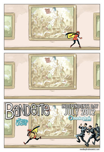<p>Cloonan's delightful art and Tobin's winning story about a teenage adventuress would have made <a href=&quot;http://www.monkeybraincomics.com/2012/12/10/bandette-3/&quot; target=&quot;_blank&quot;>Bandette</a> a hit in any format, but the team decided to take their act straight to digital as a flagship title of a new imprint, MonkeyBrain Comics. Offering a range of quality original works from top-drawer pros, MonkeyBrain is the best of several big debuts in 2012 that challenge old industry models by combining creator ownership, traditional publishing values and digital distribution.</p>