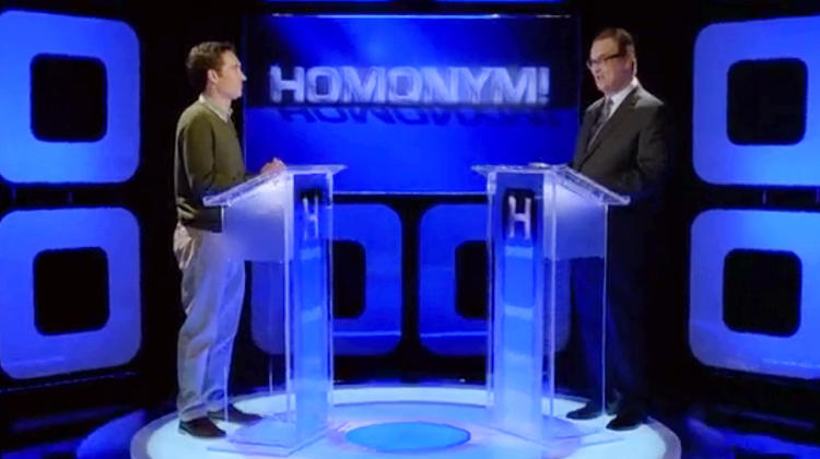 <p>Aired: Season 7 Episode 1</p>  <p>This game show is unwinnable: Anytime the contestant guesses, say, &quot;meet,&quot; the answer will always be &quot;meat.&quot;</p>