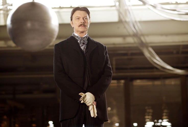 <p>Big Screen: David Bowie plays the eccentric inventor in Christopher Nolan's magic-meets-science thriller <em>The Prestige.</em> Indie filmmakers Joseph Sikorski and Michael Calomino plan to shoot their bio-pic <em>Fragments of Olympus</em> on the grounds of a former Tesla laboratory in Wardenclyffe in Shoreham, England. Christian Bale may star in Universal Pictures' <em>Tesla, Rule of the World,</em> with Nic Cage reportedly considering the role of Thomas Edison.<br /> Third Act: In 1943, Tesla died alone and penniless in a room at the New Yorker Hotel.</p>