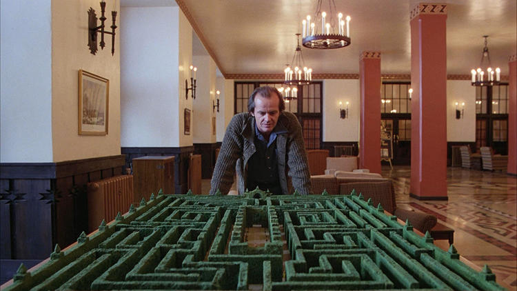 <p>In keeping with Kearns's Minotaur theory, the hotel's maze-shape hedges supports the notion that Kubrick modeled <em>The Shining</em> after the labyrinth-like riddles of Greek mythology.</p>