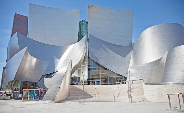 <p>Frank Gehry's swooping stainless steel design was a radical departure from the traditional, stuffy concert hall. It inspired other architects to expand their imaginations.</p>