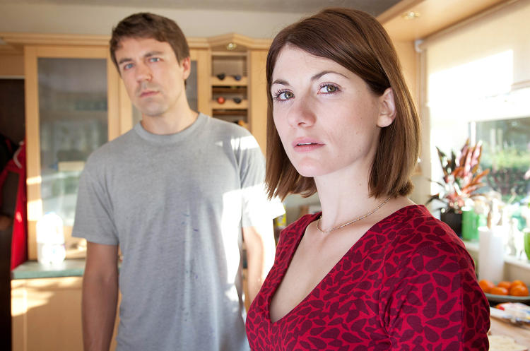 <p>Parents of the dead boy are Beth Latimer (Jodie Whittaker) and Mark Latimer (Andrew Buchan).</p>