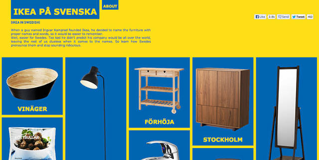 An Audio Guide To Pronouncing Ikea S Impossible Product Names Co Design Business Design