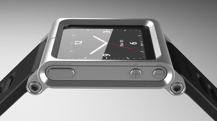 <p>These clever bands, by Scott Wilson of MNML Studio, turn iPod Nano into a nice-looking (if slightly butch) wristwatch. TikTok ($34.95) lets you readily snap Nano in and out, whereas LunaTik ($69.95) is meant for people who want to make their Apple device a watch most of the time. Available on pre-order here.</p>