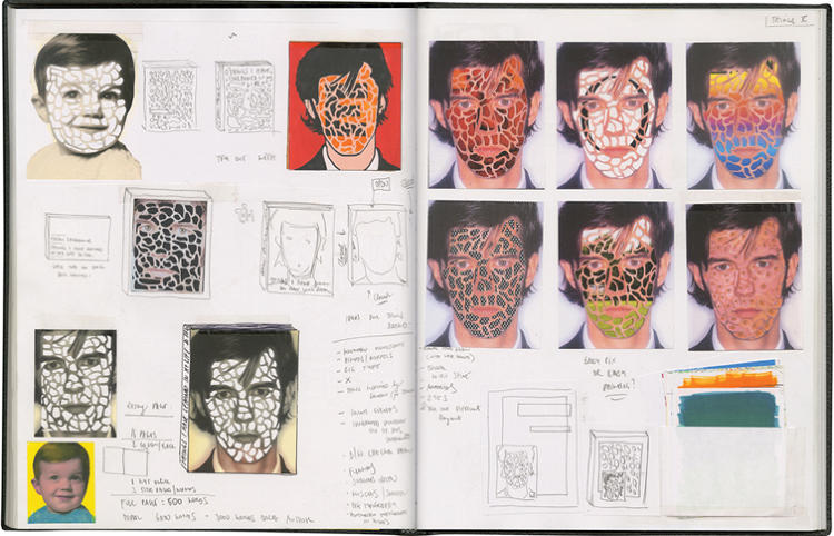 <p>Stefan Sagmeister, Austrian-born, New York-based designer and provocateur, has maintained expansive sketchbooks since he was seventeen. &quot;I find it easier to think about an idea once it's down on paper, which gives me the opportunity to squeeze it (until the juice runs down its legs).&quot;</p>