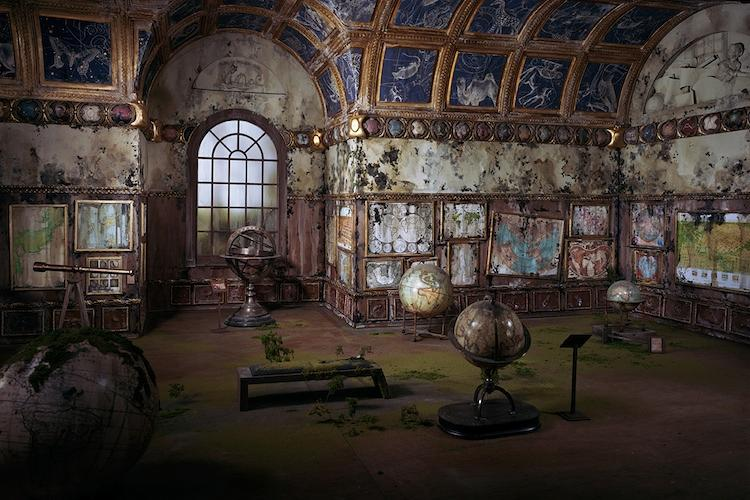 <p>Did Nix create microscopic maps to fill the shelves of this abandoned cartographic society? We wouldn't put it past her.</p>
