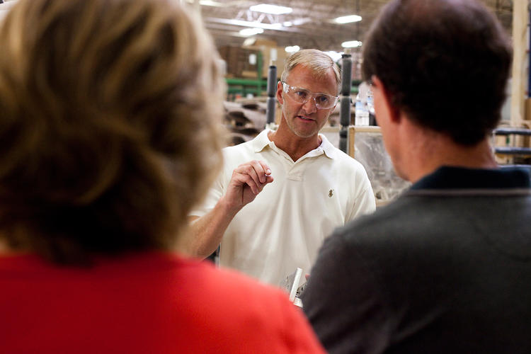 <p>Mike Kuperus, the plant manager, says that the workers &quot;appreciate the product as much if not more than the end consumer.&quot;</p>
