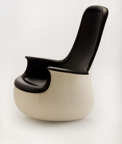 <p>High-back chair by Marc Held for Knoll (1965 to 1967).</p>