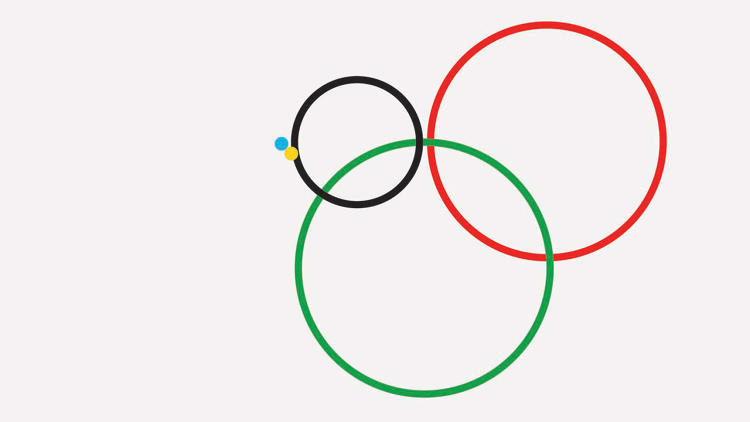 <p>And here, Gustavo Sousa uses <a href=&quot;http://www.fastcodesign.com/1670344/infographics-using-the-olympic-rings-to-show-vast-inequalities#3&quot; target=&quot;_self&quot;>subtly shifting Olympic rings to compare statistics between participating continents</a>. The visualizations reveal vast inequalities in everything from income to health.</p>