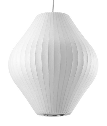 <p>Nelson designed the first Bubble lamp in 1952. Herman Miller manufactured the collection until 1979. Modernica acquired all of the tooling and materials to begin production of the lamps in 1998. Image via <a href=&quot;http://www.wright20.com&quot; target=&quot;_blank&quot;>Wright</a>.</p>