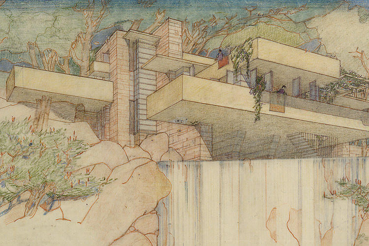 <p>Wright's masterpiece. Read more Co.Design coverage of Fallingwater here.</p>
