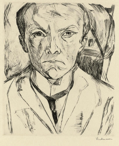 <p>By German Expressionist Max Beckmann</p>