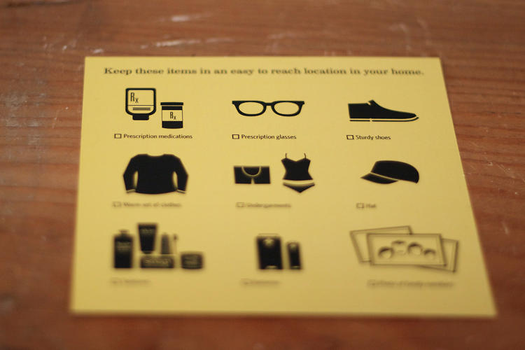 <p>Keep these items handy!</p>
