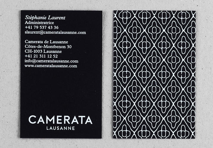<p>A business card from the series.</p>