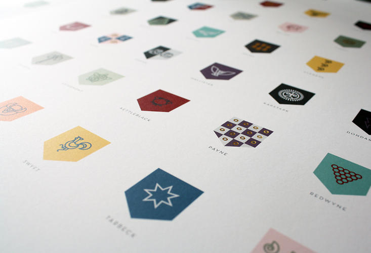 "<p>&quot;I never thought of the project as a series of logos; The approach was much more that of creating an icon set.""</p>"