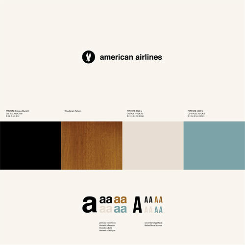 <p>Anna Kövecses's theoretical redesign of American Airlines focuses on conveying an aura of safety.</p>