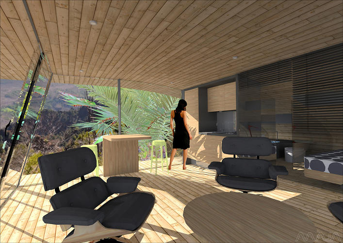 <p>…including an interior rendering…</p>