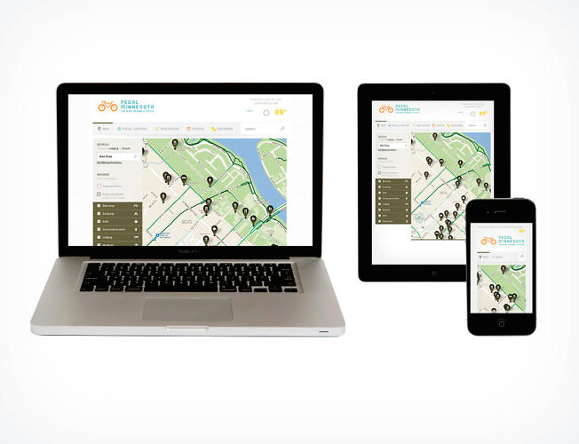 <p>A newly unified database of the state's miles of bike lanes accompanies the web platform. Crucially, it's easily accessible on mobile devices.</p>