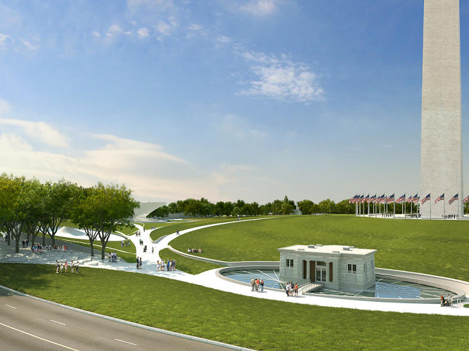 <p>Michael Maltzan Architecture and Tom Leader Studio for the Sylvan Theater at the Washington Monument grounds.</p>