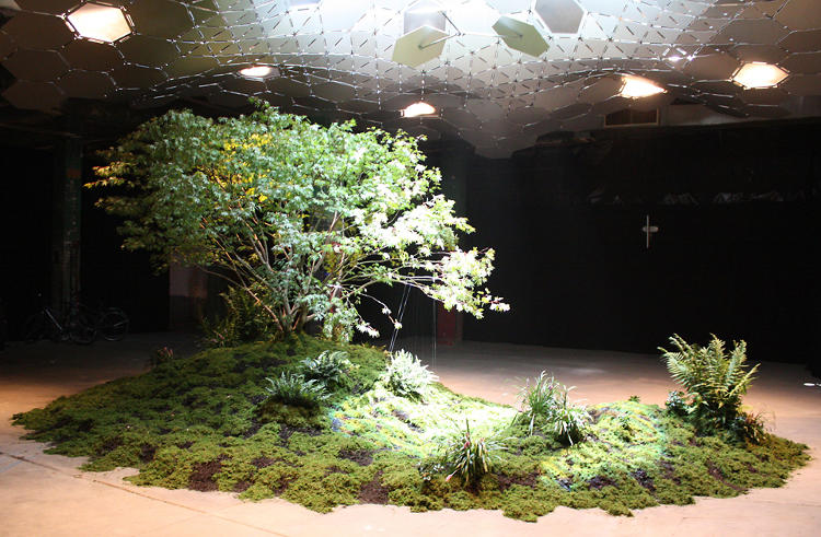 <p>Free and open to the public until the end of the month, <em>A First Glimpse of a Future Underground</em> displays a prototype of the LowLine, an underground park being developed for a disused trolley terminal on Manhattan's Lower East Side.</p>