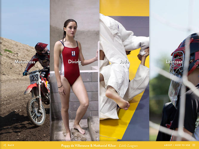 <p>Poppy de Villeneuve and Nathaniel Kilcer turned their encounters with youth sports subcultures into a rich multimedia slideshow.</p>