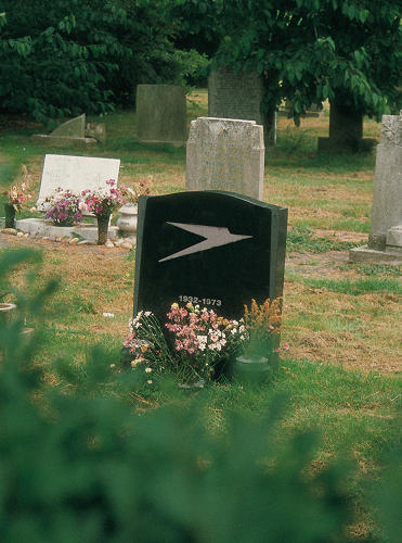 <p>The images were taken in graveyards around Europe and altered by the book's authors, Garech and Declan Stone (aka the Stone Twins).</p>