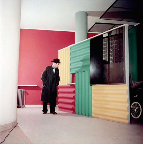 <p>Rizzo shot the 66-year-old architect in a few locations around Paris.</p>