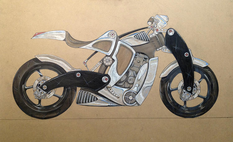 <p>Motorcycles might seem like a strange source of inspiration for a digital designer, but they have a visceral connection to our humanity that Jacoby yearns for in our digital experiences.</p>