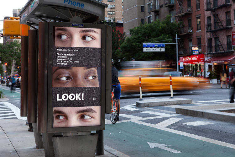 <p>In addition to crosswalk decals, a series of print ads accompany.</p>