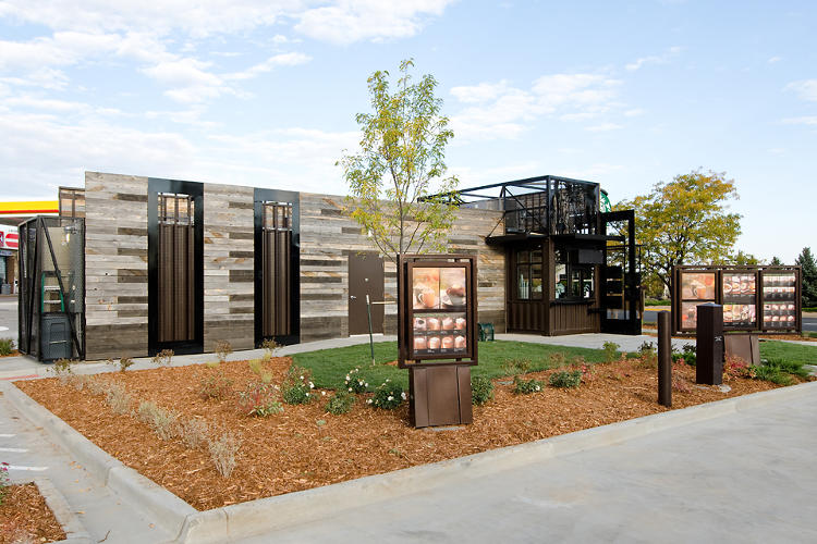 <p>The drive-thru looks bigger than the 500-square-foot building!</p>