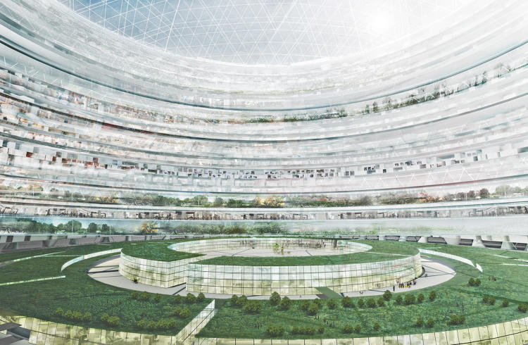 <p>Each dome has a speciality; Benshetrit envisions the following: a museum, a financial center, a stadium, a sports center, an entertainment center, and an education center.</p>