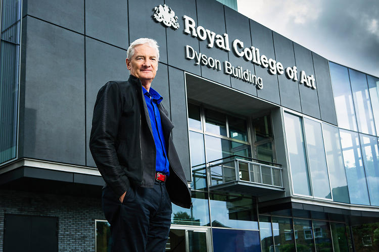 <p>Dyson himself graduated from RCA in 1969.</p>