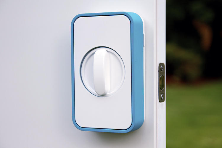 <p>The new Lockitron isn't a connected lock so much as a connected box that turns your existing one.</p>