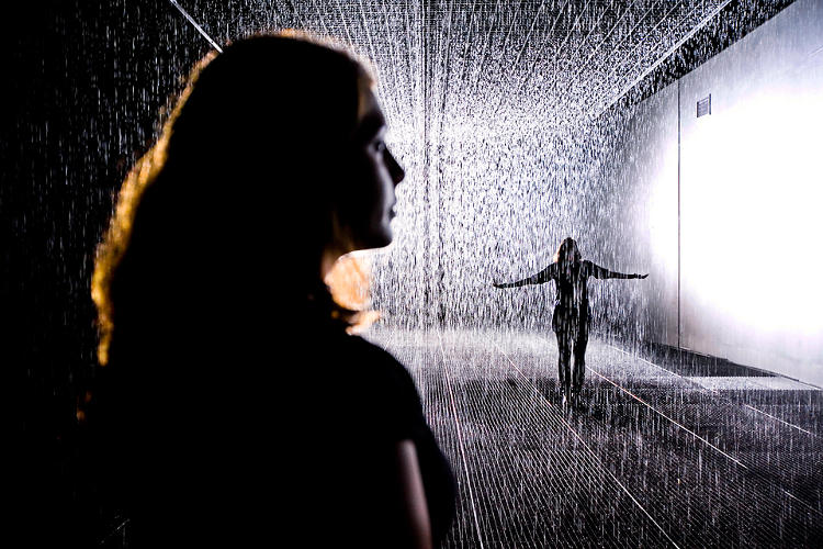 <p><em>Rain Room</em> is open through March of next year.</p>