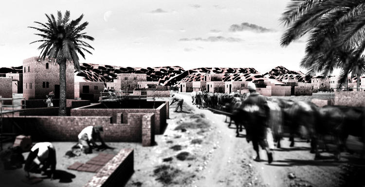 <p>Right now, he's looking to raise funds for a prototype single-story home built with his bricks in Siwa.</p>