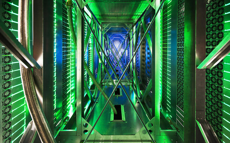 <p><a href=&quot;http://www.google.com/about/datacenters/inside/&quot; target=&quot;_blank&quot;>See more of Google's data centers on their new site.</a></p>