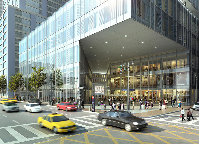 <p>The plan should be taken with a gigantic grain of salt, since the idea was to drum up public support for the rezoning, not to kick off the design process.</p>