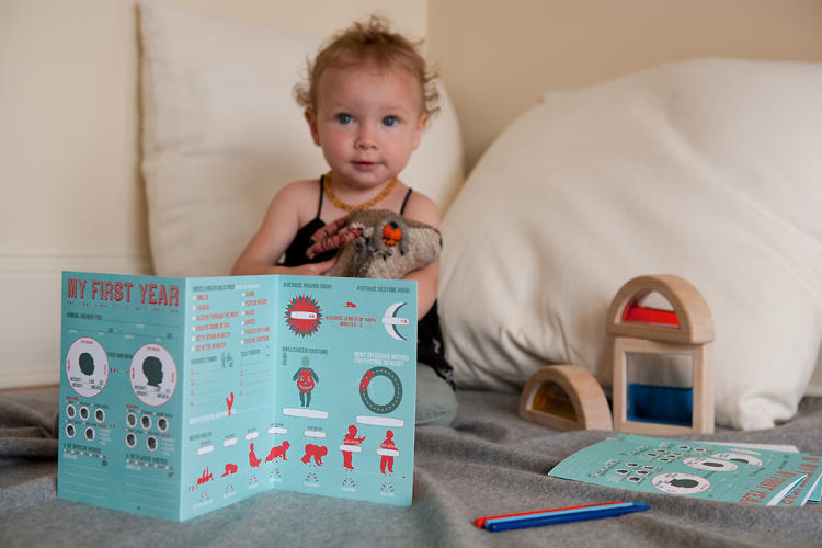 <p>We love our kids; we love infographics. Restyling the baby book as an infographic seems like a no-brainer.</p>