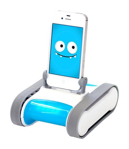 <p>Romo is a robotic body and a software personality for your iPhone.</p>