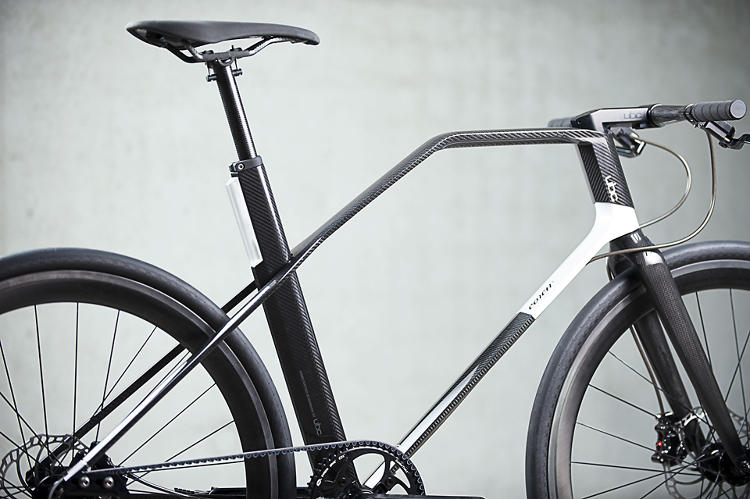 <p>In the animal kingdom, there are humble animals and there are peacocks. This <a href=&quot;http://www.fastcodesign.com/1671042/a-32000-carbon-fiber-fixed-gear-bike-designed-by-a-formula-1-firm#1&quot; target=&quot;_self&quot;>experimental carbon fiber frame</a> from the German engineers at UBC falls squarely into the latter category. At $32,500, it's a massive investment. Compared to similar frames, you're paying about $10,000 for every pound lost. But if you only cared about saving money, you'd be riding a Walmart fixie, right?</p>